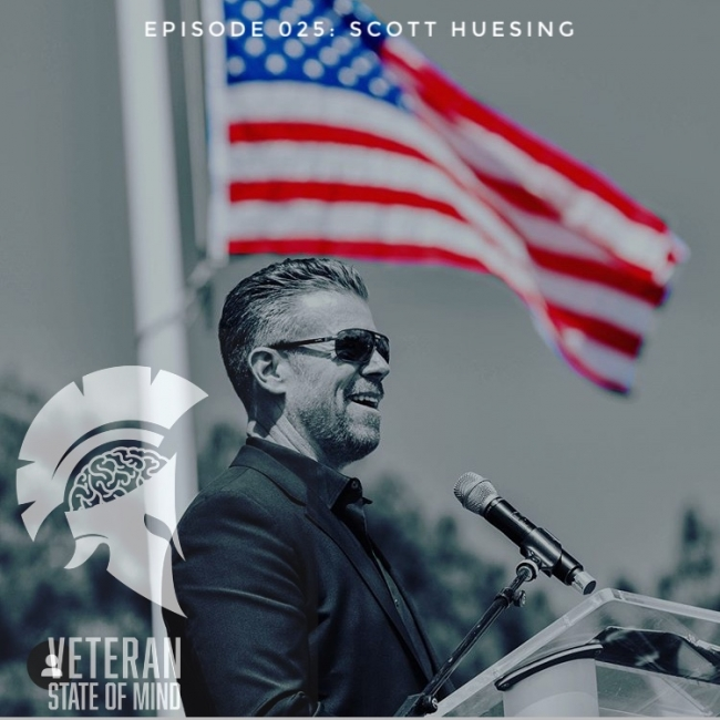 Episode 025: Echo In Ramadi, with Scott Huesing
