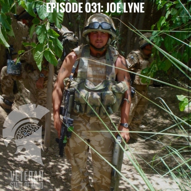 "Episode 031: ""I didn't give a f*** if I died"", with Joe Lyne"