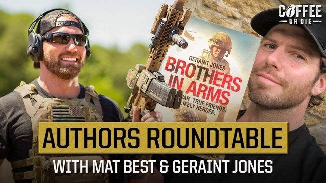 Episode 115: BRCC Author's Roundtable, with Mat Best, Geraint Jones, and Marty Skovlund Jr